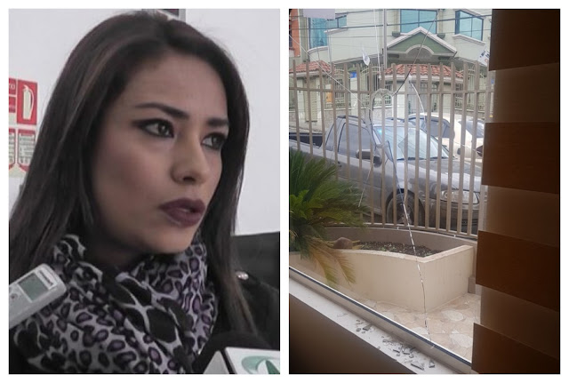 Jeannine Cruz fue atacada
