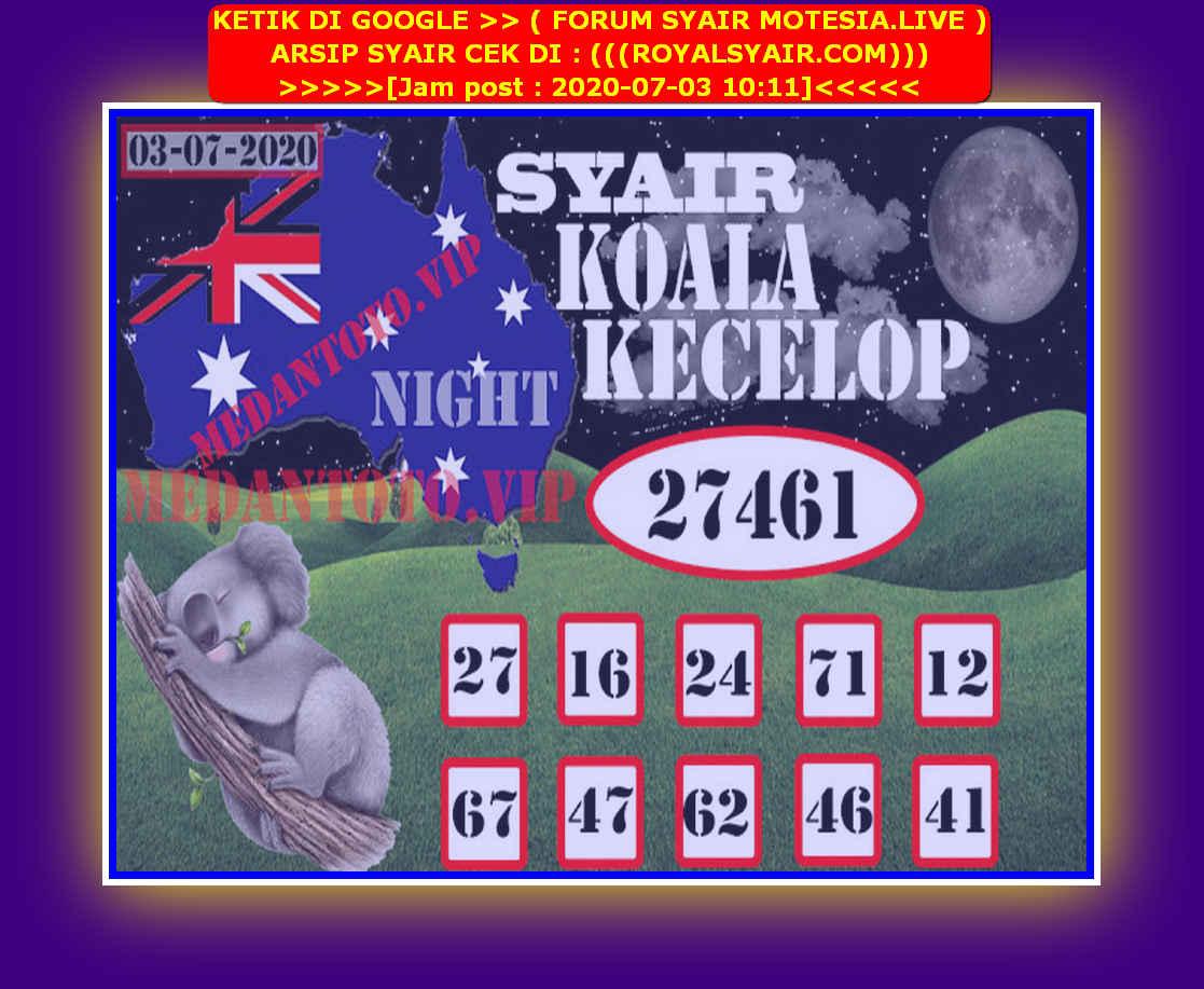 Kode syair Sydney Jumat 3 Juli 2020 158