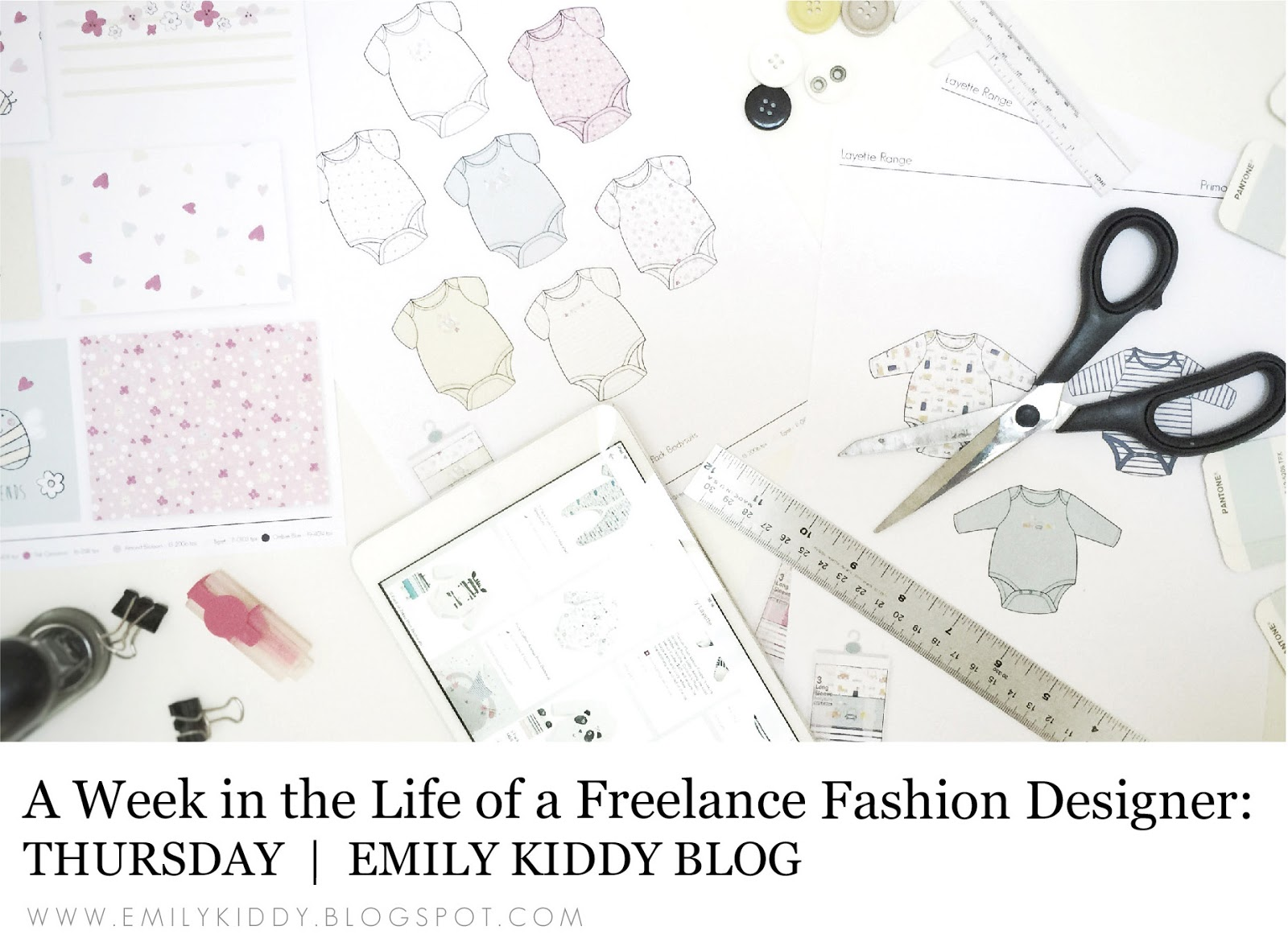 Emily Kiddy A Week In The Life Of A Freelance Fashion Designer Thursday