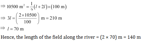 CBSE NCERT Solutions of Class VIII Math Mensuration Exercise 11.2, Question 8