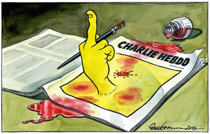 The Pen Is Mightier Than The Sword 28 Cartoonists Pay Tribute To The Victims Of The Charlie Hebdo Shooting