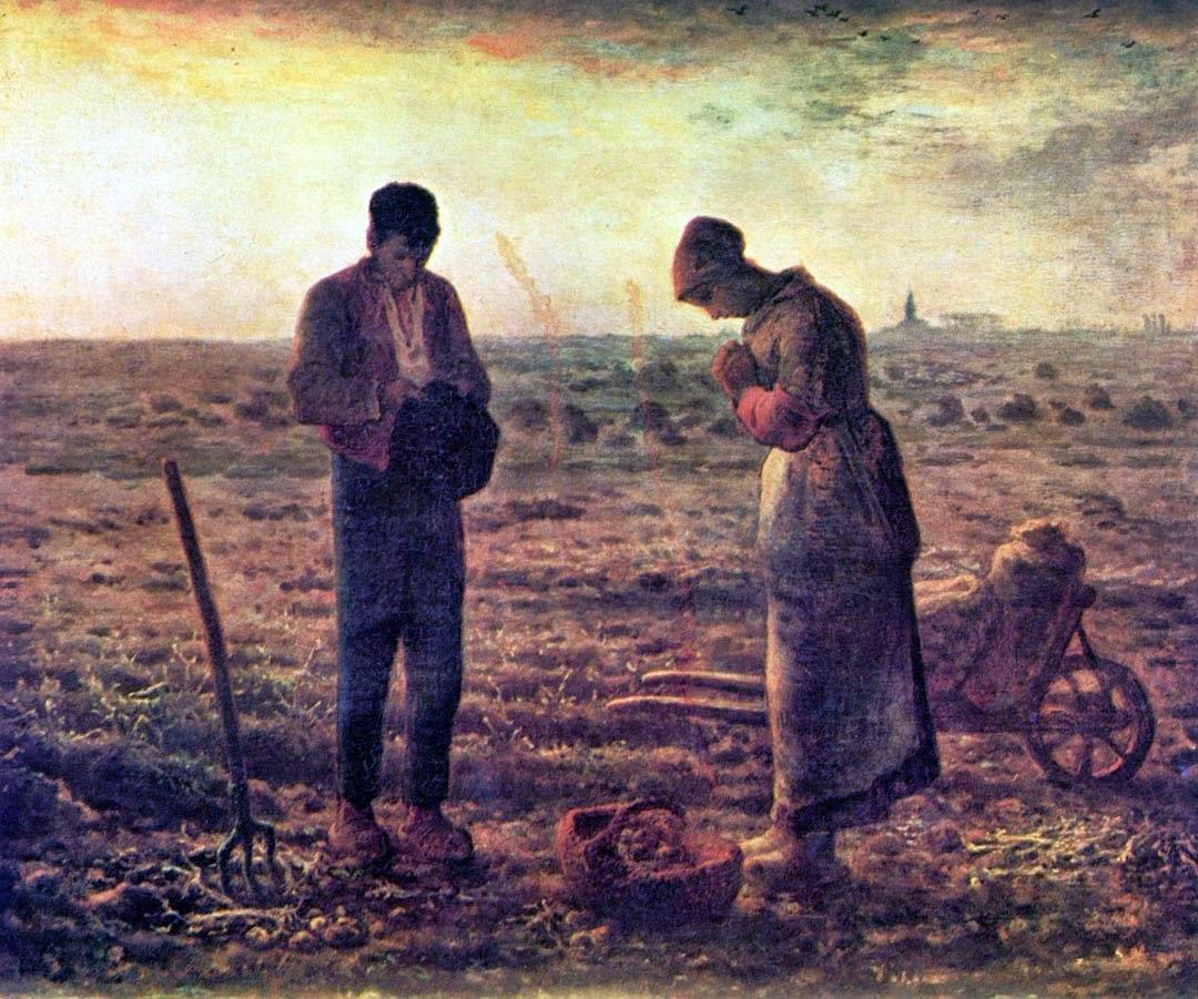 Hora do Angelus - Millet, Jean-Francois e suas principais pinturas | Realismo