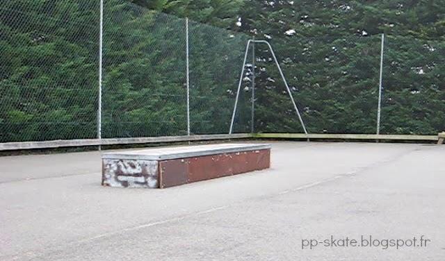 Curb skate Chambray