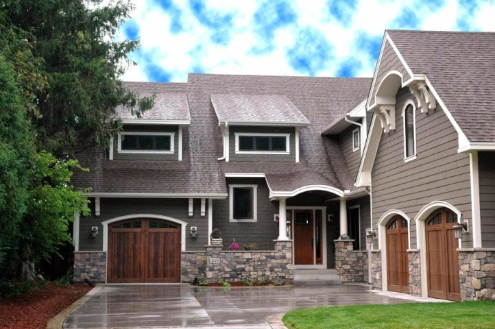 exterior paint colors for homes with stone