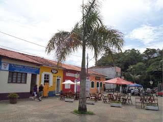 Centro histórico, em Itanhaém