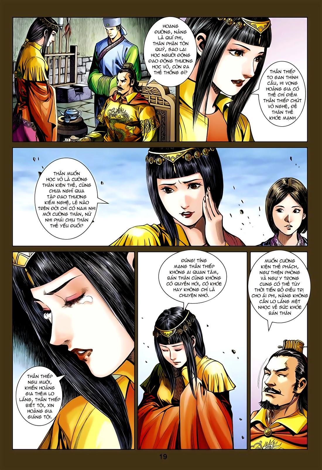 Anh Hùng Xạ Điêu anh hùng xạ đêu chap 75: hoàng thành cựu sự trang 19