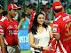 Preity Zinta and Glenn Maxwell