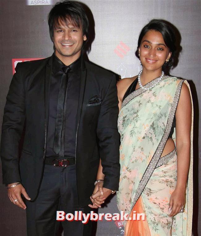 Vivek Oberoi, Bollywood Wags at Screen Awards 2014