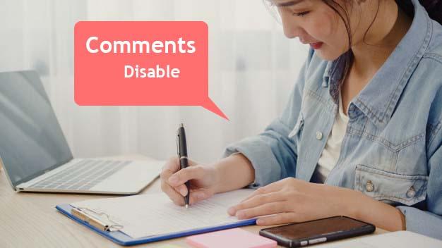 Cara Menghilangkan Kolom Komentar Blogspot