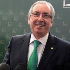 Deputado Eduardo Cunha se emociona apos renuncia à presidência da camera
