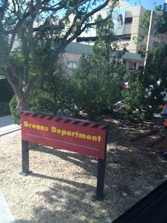 Greens Department Disney's Hollywood Studios