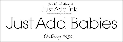 Jo's Stamping Spot - Just Add Ink Challenge #450