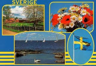 postal da Suécia
