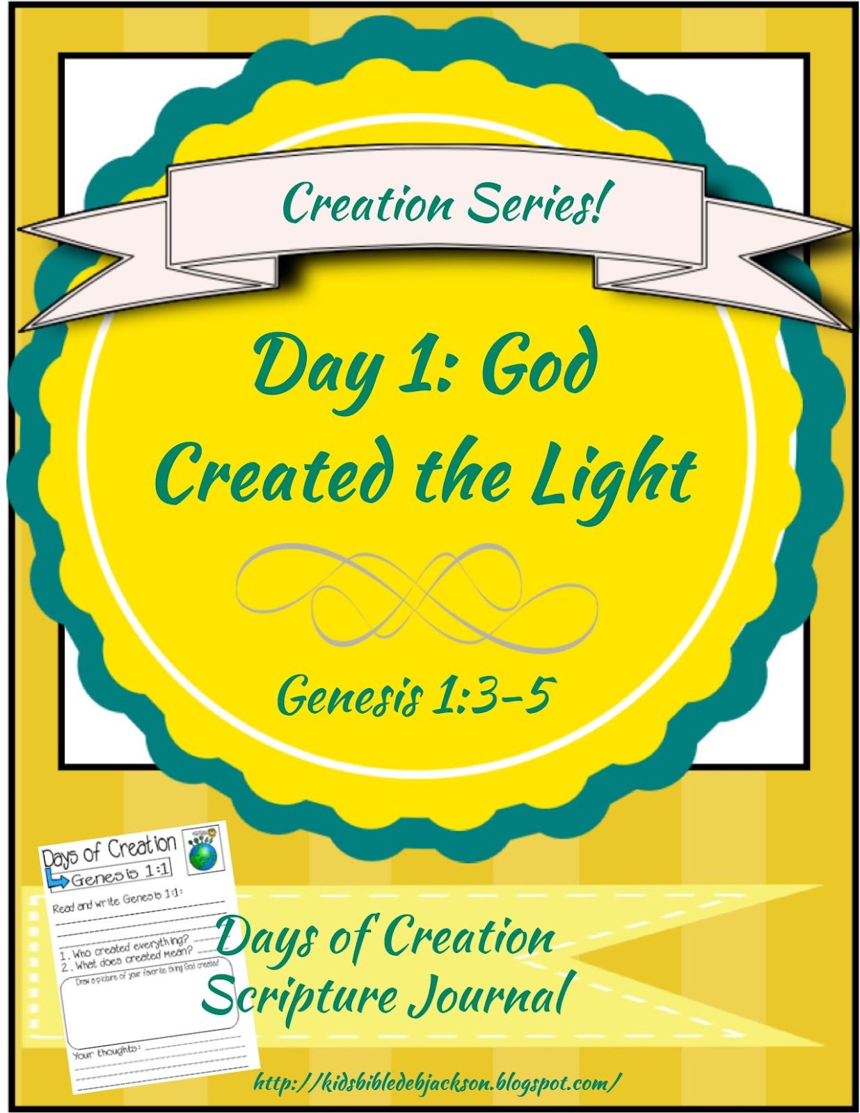 http://kidsbibledebjackson.blogspot.com/2015/01/the-creation-for-kids-day-1.html