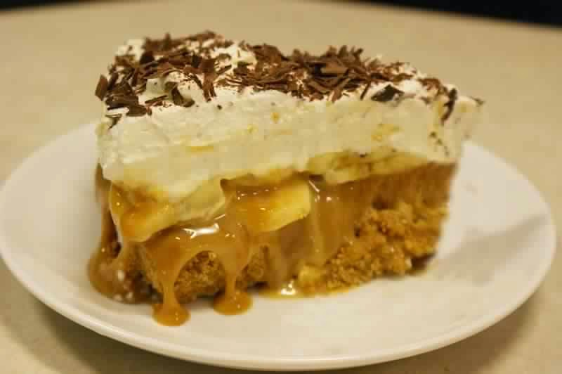 slimming banoffee pie)