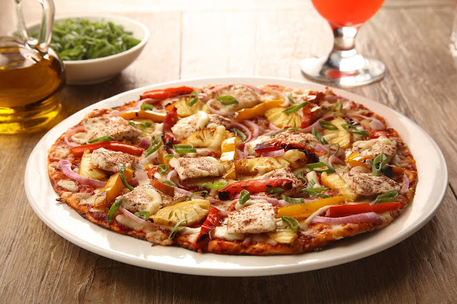 Jamaican Jerk Pizza