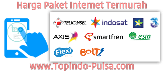 Topindo-Pulsa.Com Agen Kuota Pulsa Paket Internet Data Termurah