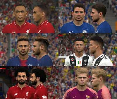 PES 2017 Facepack January 2019 by BenHussam Facemaker