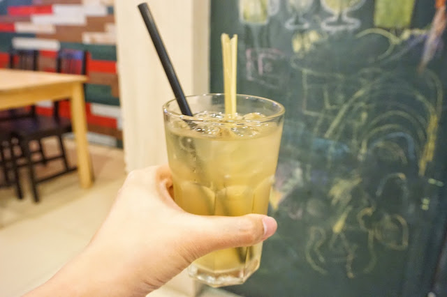 Rice & Fries - Lemongrass Drink