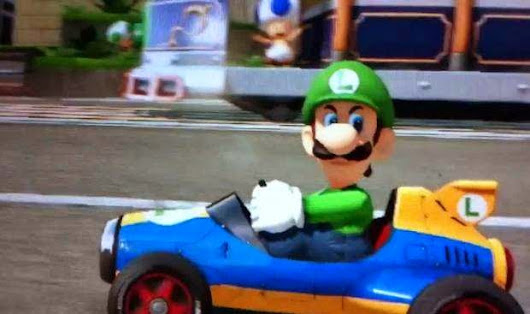 Quick Look: Mario Kart 8 via Giant Bomb