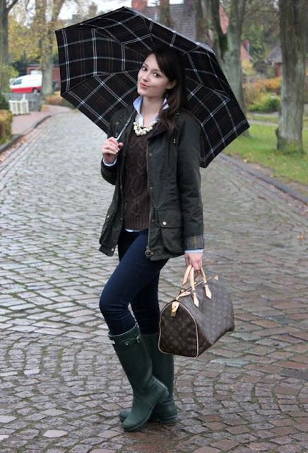 marcas de botas para lluvia
