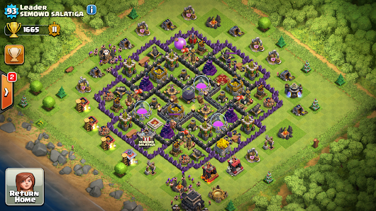 Best Clash Of Clans Base By Leader