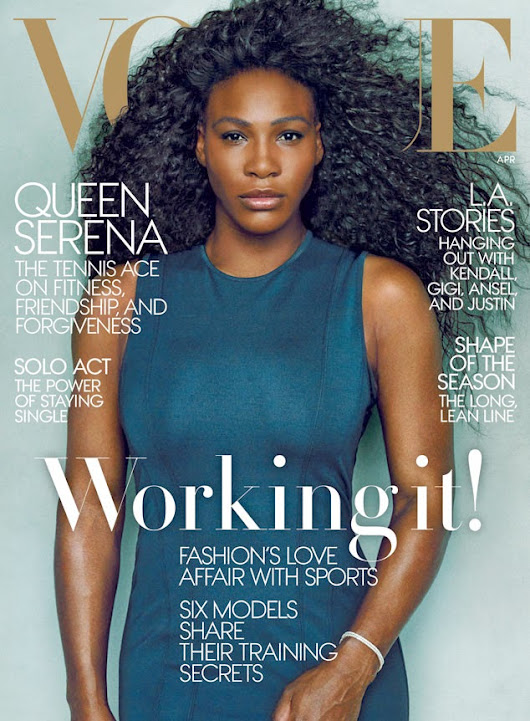 Serena Makes History with Her Vogue Cover