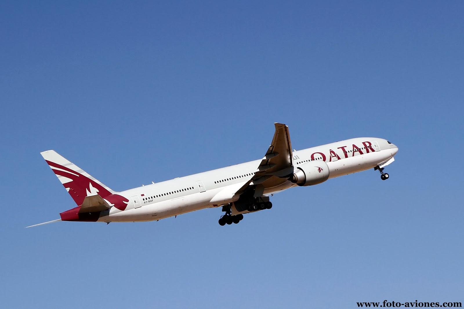 Boeing 777 / A7-BAF