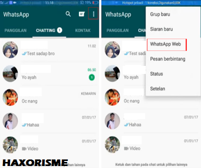 Pengaturan Whatsapp Web