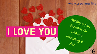 I love you love letters greetings HD