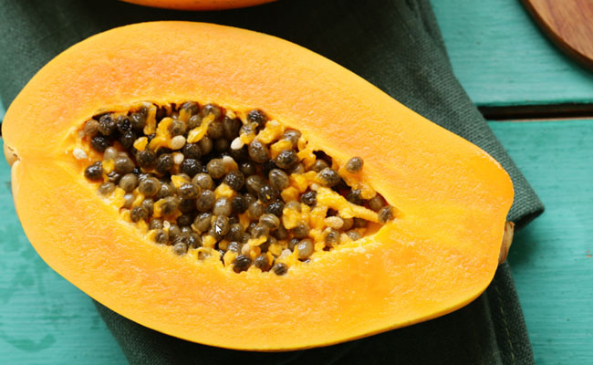 get glowing skin papaya