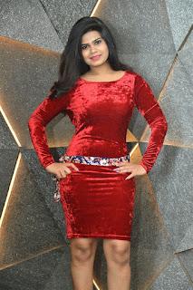 Alekhya Kondapalli Photos at Akkadokaduntadu Movie Teaser Launch