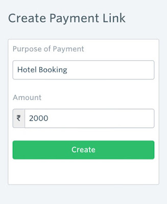 Instamojo-create-payment-link