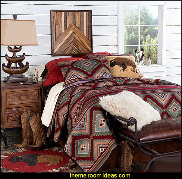 Decorating theme bedrooms - Maries Manor: Native American