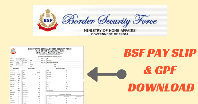 BSF-Payslip-Download-Online-bsf.nic.in-BSF-Mobile-App Online Form Bsf on employment application, california state tax, personal data sheet, fillable printable 941, it pennywise real,