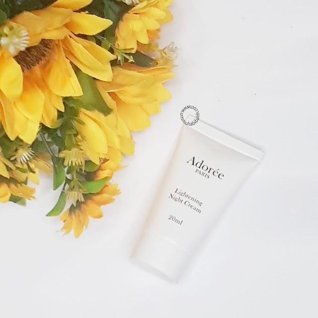 Skincare botanical
