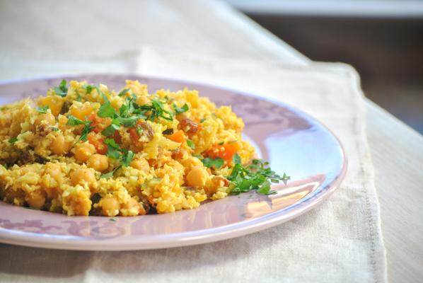 cuscus coliflor estilo marroqui optimum g2.1