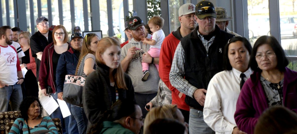 Salt Lake County Republican Party worries about long voting lines