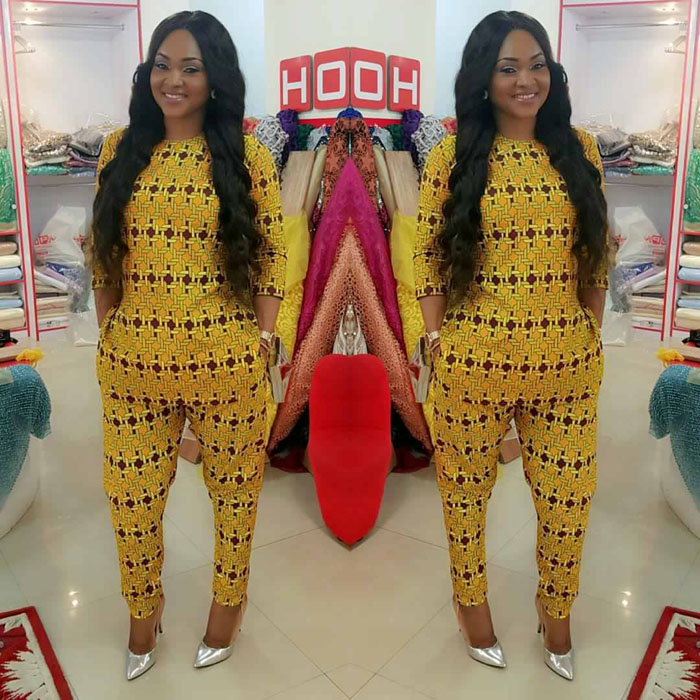 50 Pictures Of The Latest Mercy Aigbe & Daughter Ankara Styles ...
