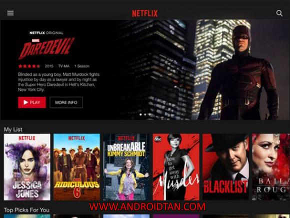 Free Download Netflix Mod Apk v4.11.0 Premium Android Full Latest VersionTerbaru 2017 Gratis