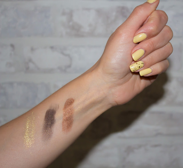 monday shadow challenge maquillage doré swatch
