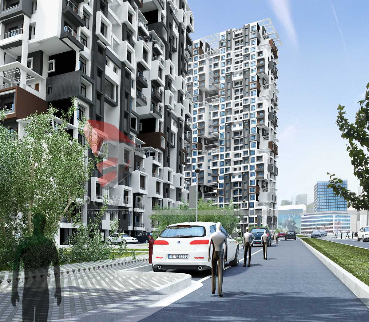 Architectural Apartment Rendering: 3d Architectural Visualization