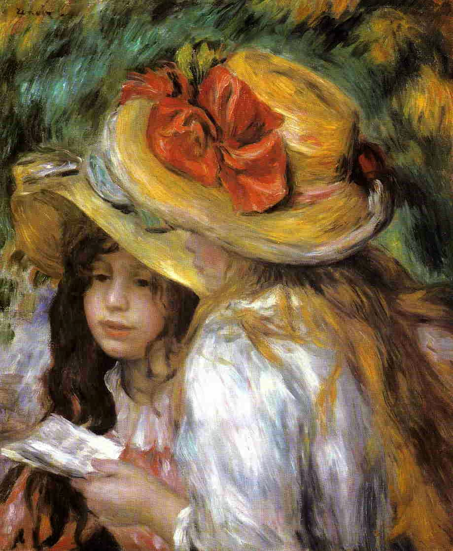 Pierre-Auguste Renoir - Two Young Girls Reading, 1891