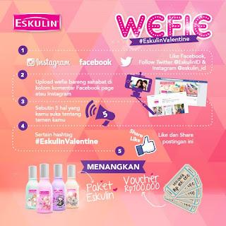 Kontes Foto #EskulinValentine Berhadiah Voucher Belanja Total 500K dan Paket Eskulin