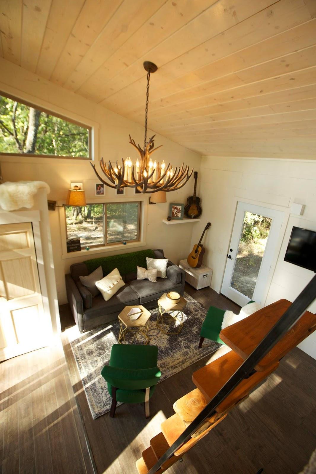 Small Kitchen Design Log Cabin