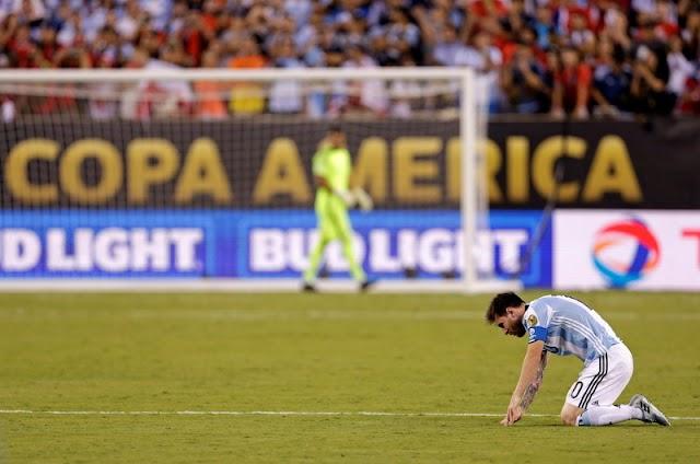 Tak Mengejutkan Messi Pensiun dari Timnas Argentina