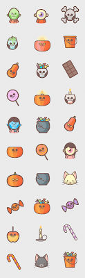 Free Halloween Icons Pack