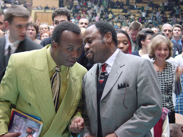 Pastor Sunday Adelaja and Dr. Myles Munroe