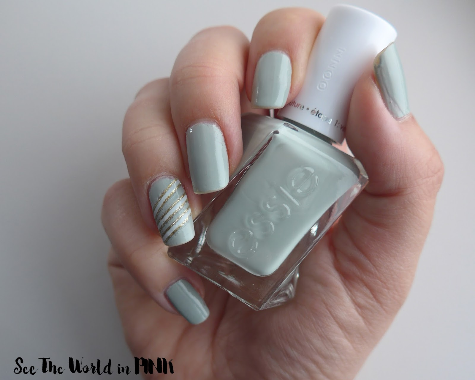 Manicure Monday - Essie Gel Couture Polish 1 Week Update!