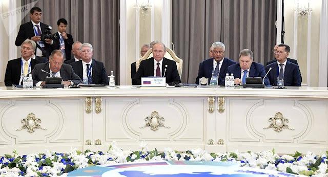 Azerbaiyán, Irán, Kazajistán, Rusia y Turkmenistán firman Convención del Caspio